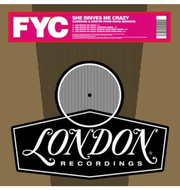 London Records Fine Young Cannibal - She Drives Me Crazy (Cerrone and Dimitri From Paris Remixes) (Coloured Vinyl)