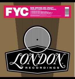 London Records Fine Young Cannibals - She Drives Me Crazy (Derrick Carter And Seth Troxler Remixes) (Coloured Vinyl)