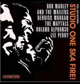 "Soul Jazz Records Various - Soul Jazz Records Present - Studio One Ska Fire! Collectors 7"" Box Set"