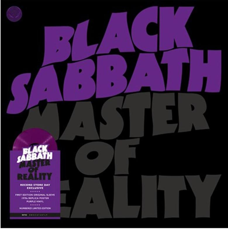 BMG Black Sabbath - Master Of Reality