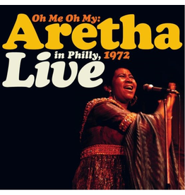 Atlantic Records Aretha Franklin - Oh Me, Oh My: Aretha Live In Philly 1972 (Coloured Vinyl)