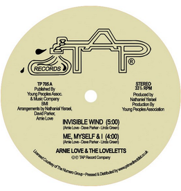 TAP Records Arnie Love & The Loveletts - Invisible Wind