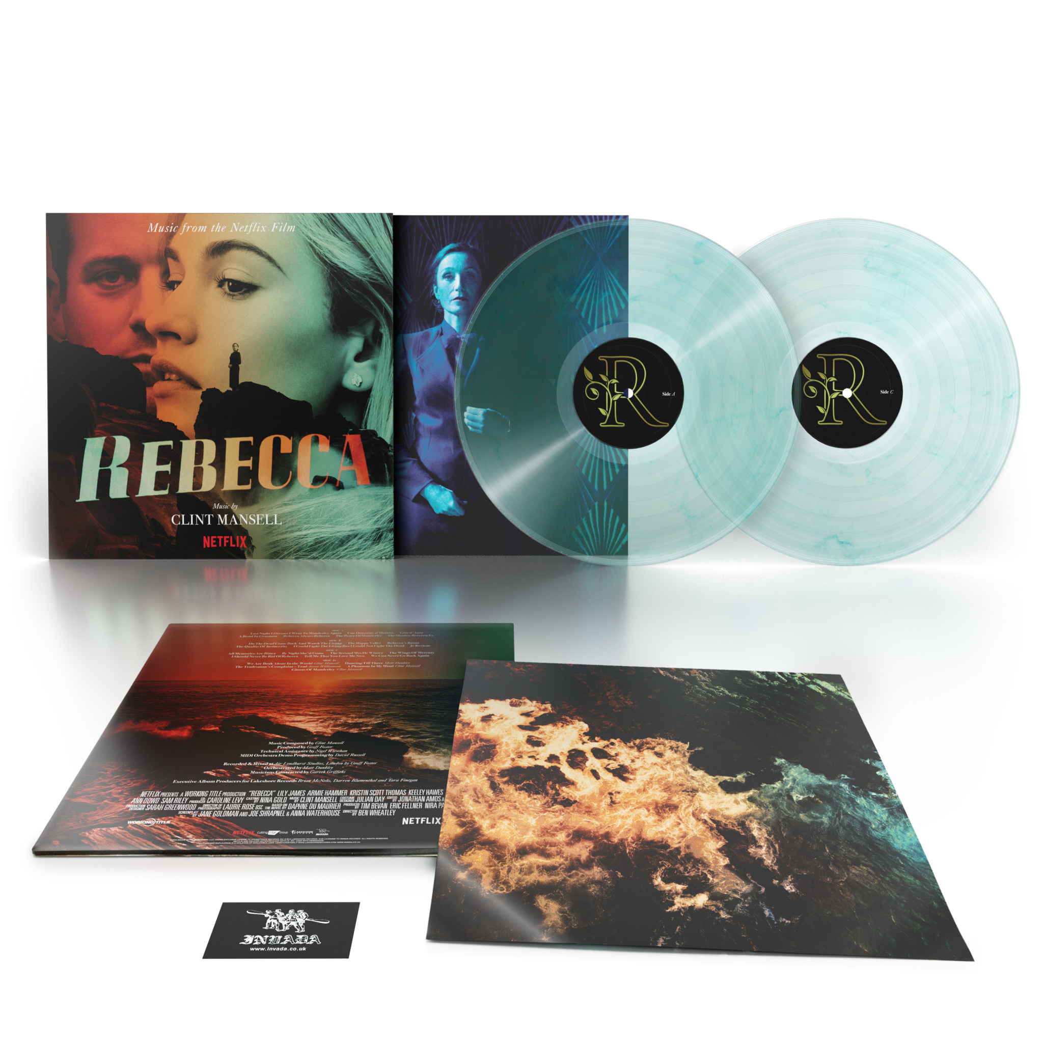Invada Records Clint Mansell - Rebecca (Music From The Netflix Film) (Coloured Vinyl)