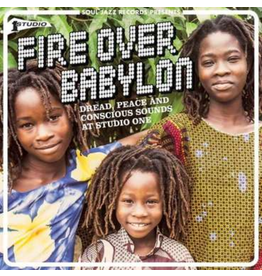 Soul Jazz Records Various - Fire Over Babylon: Dread, Peace and Conscious Sounds at Studio One