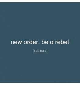 Mute Records New Order - Be a Rebel Remixed (Coloured Vinyl)