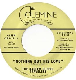 Colemine Records The Harlem Gospel Travelers - Nothing But His Love (Coloured Vinyl)