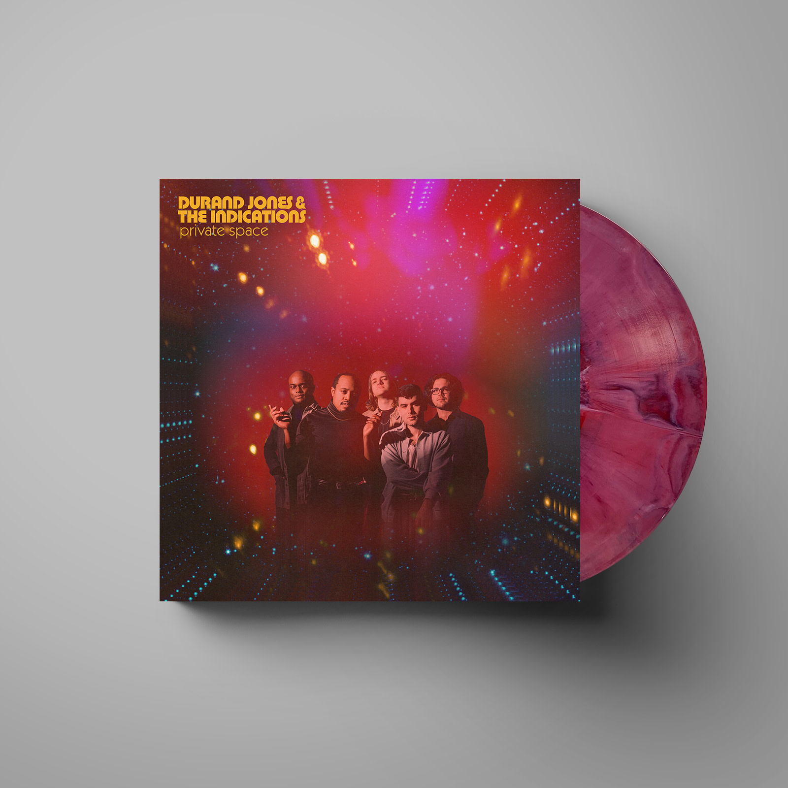 Dead Oceans Durand Jones & The Indications - Private Space (Coloured Vinyl / Signed Print)
