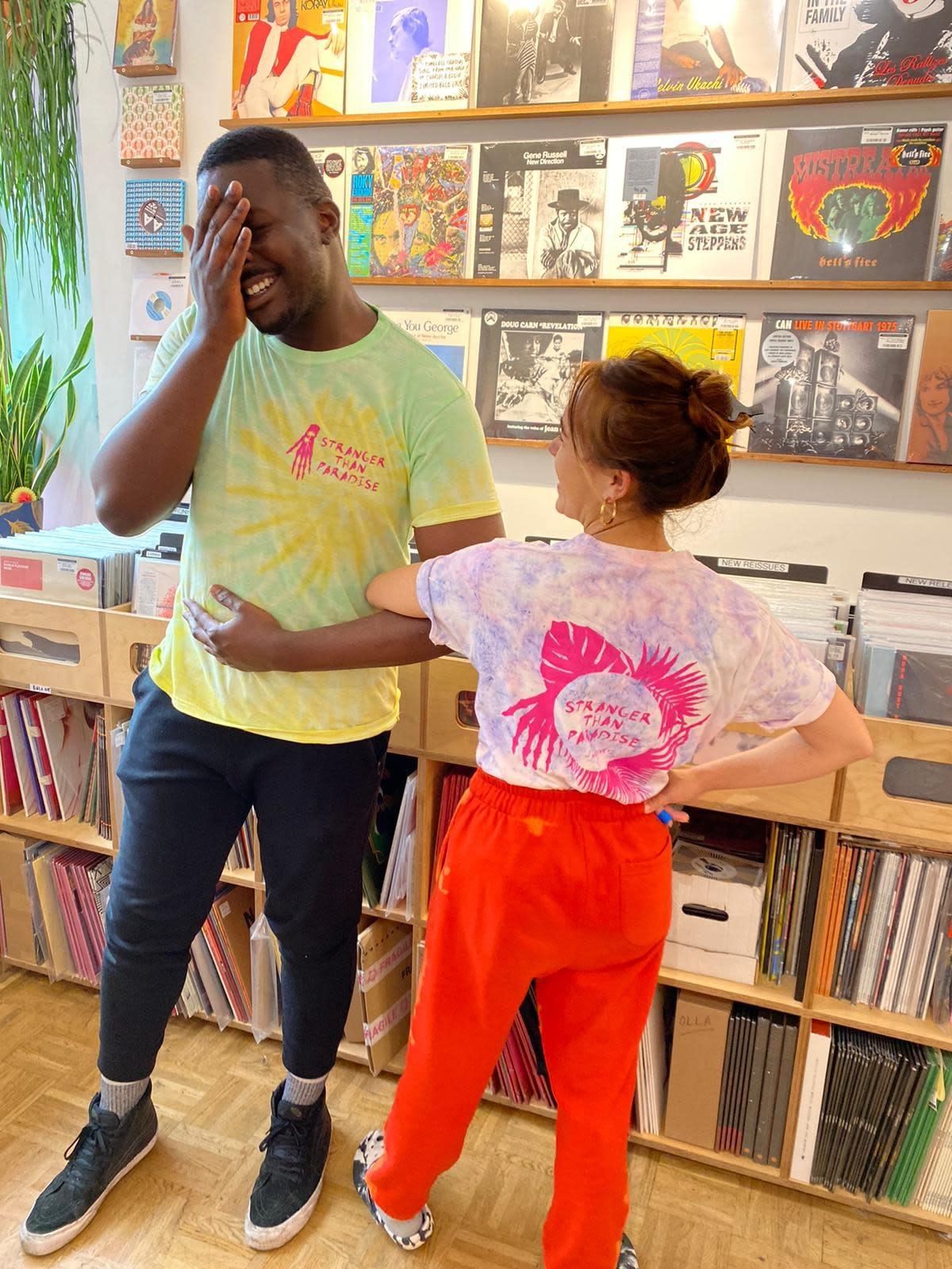 Stranger Than Paradise Records Stranger Than Paradise - Purple Tie Dye T-Shirt