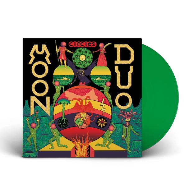 City Slang Moon Duo - Circles (Coloured Vinyl)