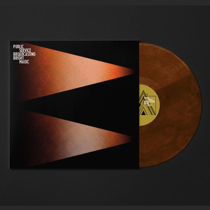 Play It Again Sam Public Service Broadcasting - Bright Magic  (Coloured Vinyl)