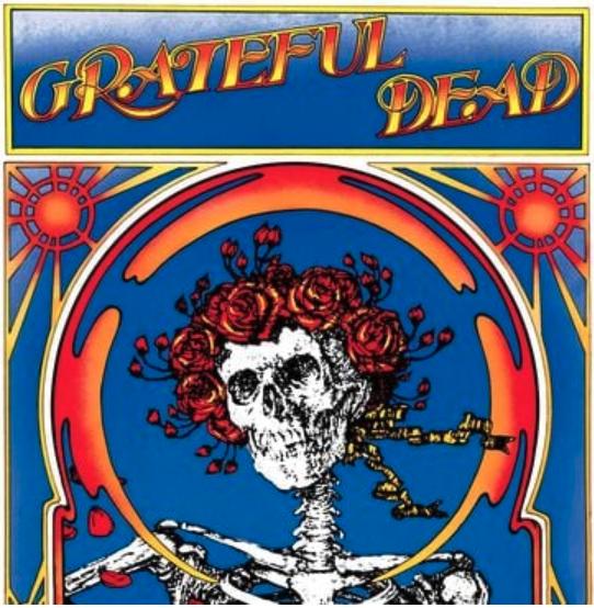 Rhino Grateful Dead - Grateful Dead (Skull and Roses)