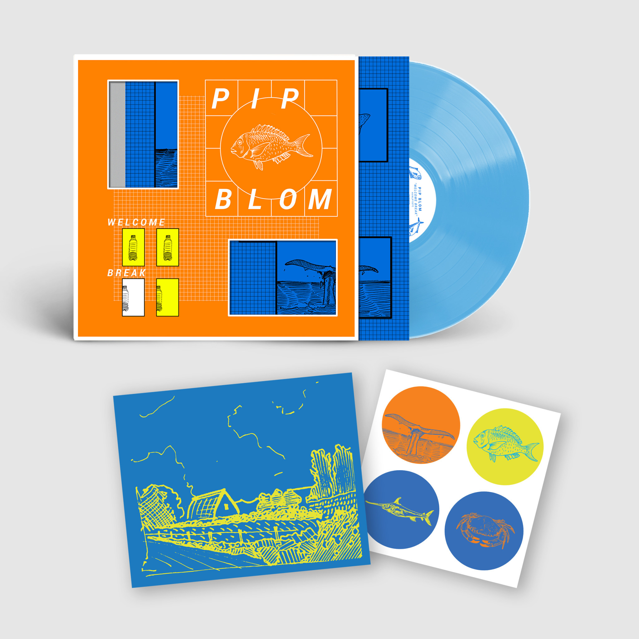 Heavenly Recordings Pip Blom - Welcome Break (Dinked Edition)