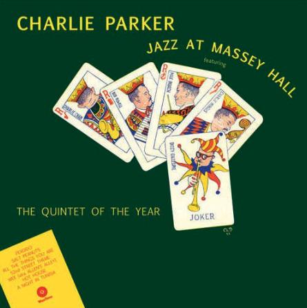 Waxtime Charlie Parker - Jazz At Massey Hall