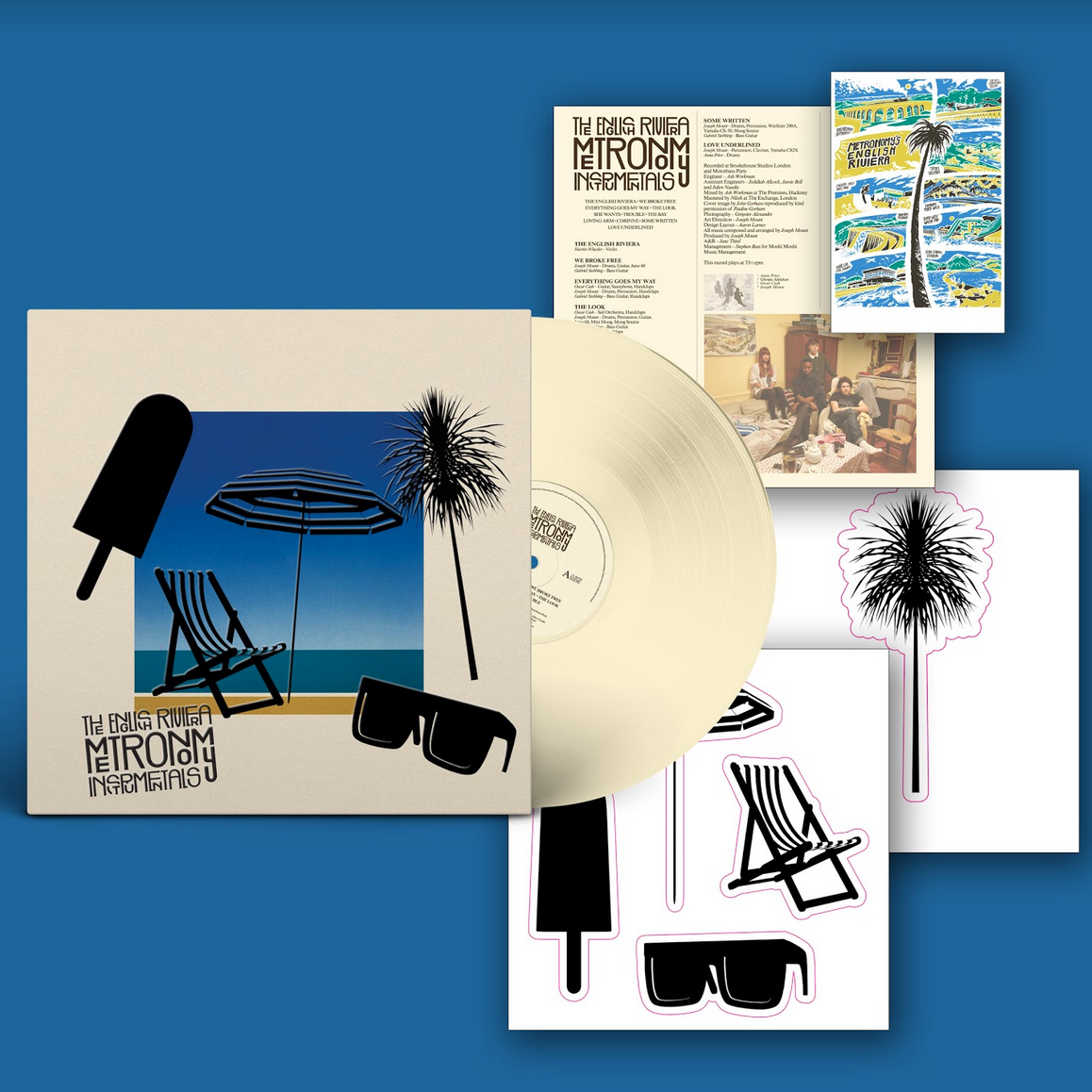 Because Music Metronomy - The English Riviera [Instrumentals] (Dinked Edition)