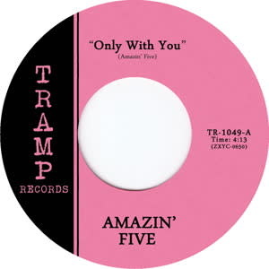 Tramp Records Amazin' Five - Only With You