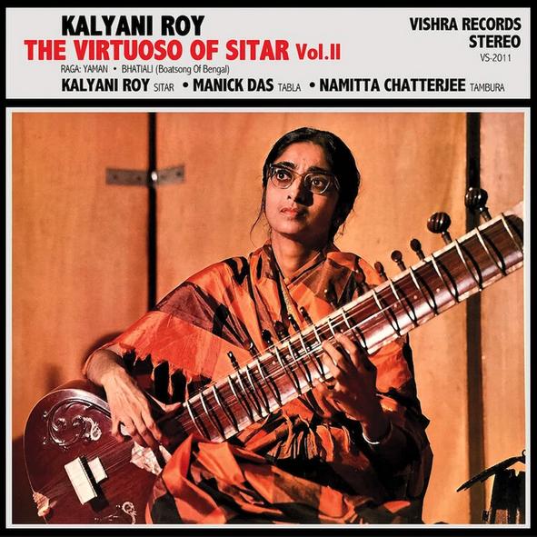 Vishra Records Kalyani Roy - The Virtuoso Of Sitar Vol 2
