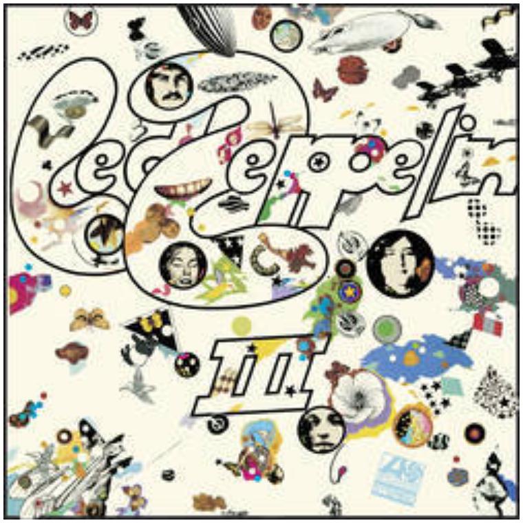 Warner Music Group Led Zeppelin - Led Zeppelin III
