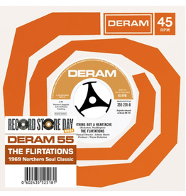 Decca The Flirtations - Nothing But A Heartache' b/w 'Need Your Loving'