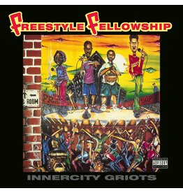 Be With Records Freestyle Fellowship - Innercity Griots