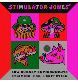 Stones Throw Stimulator Jones - Low Budget Environments Striving For Perfection