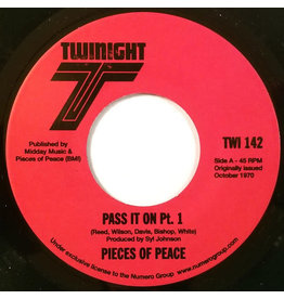 Numero Group Pieces Of Peace - Pass It On Pt. 1 b/w Pt. 2