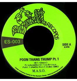 Numero Group M.A.S.O. - Poon Tang Thump Part 1 b/w Part 2