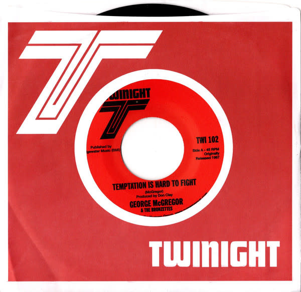 Numero Group George McGregor & the Bronzettes - Temptation Is Hard To Fight b/w Everytime I Wake Up