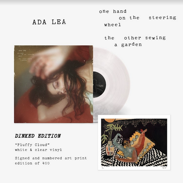 Saddle Creek Records Ada Lea - One Hand on The Steering Wheel The Other Sewing A Garden (Dinked Edition)