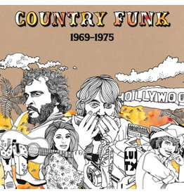 Light In The Attic Various - Country Funk (Coloured Vinyl)