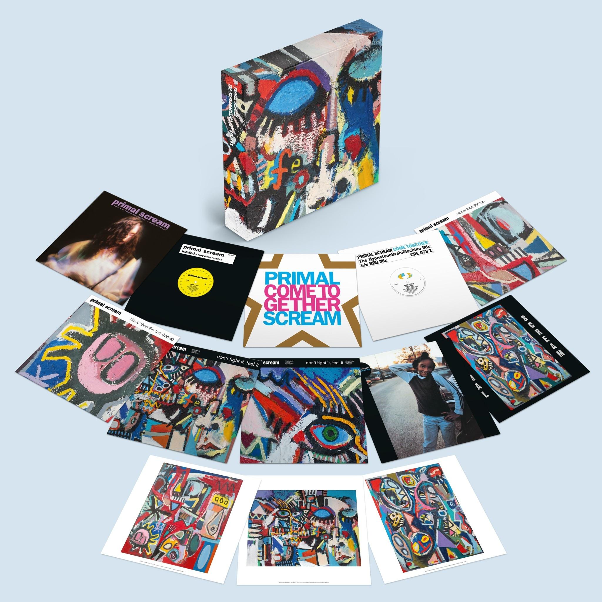"Columbia Primal Scream - The Screamadelica 12"" Singles"