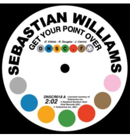 Deptford Northern Soul Club Records Sebastian Williams - Get Your Point Over / I Don't Care What Mama Said (Baby I Need You)