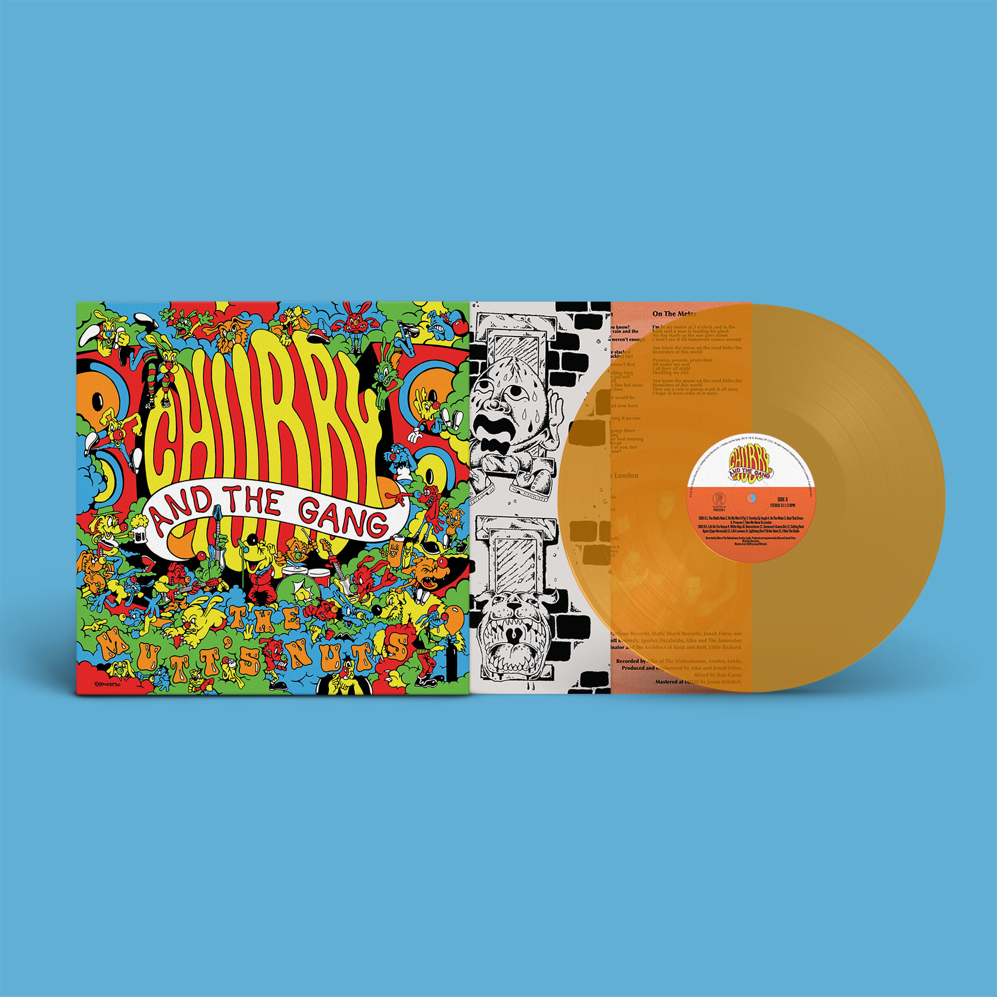 Partisan Records Chubby and the Gang - The Mutt's Nuts SIGNED (Coloured Vinyl)