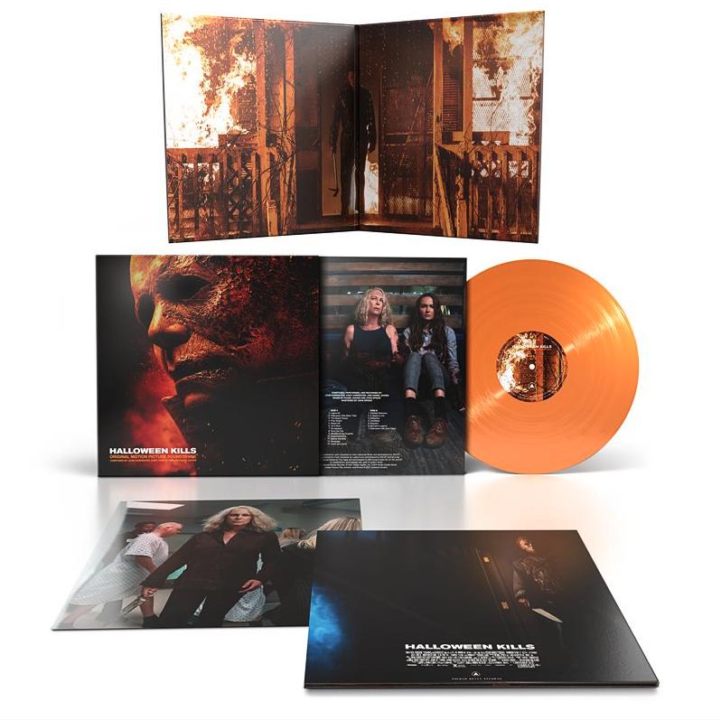 Sacred Bones Records John Carpenter, Cody Carpenter and Daniel Davies  - Halloween Kills: OST (Coloured Vinyl)