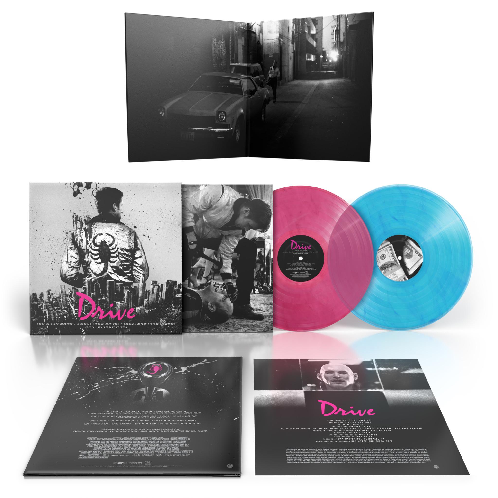 Invada Records Cliff Martinez - Drive - OST - 10th Anniversary Edition (Coloured Vinyl)