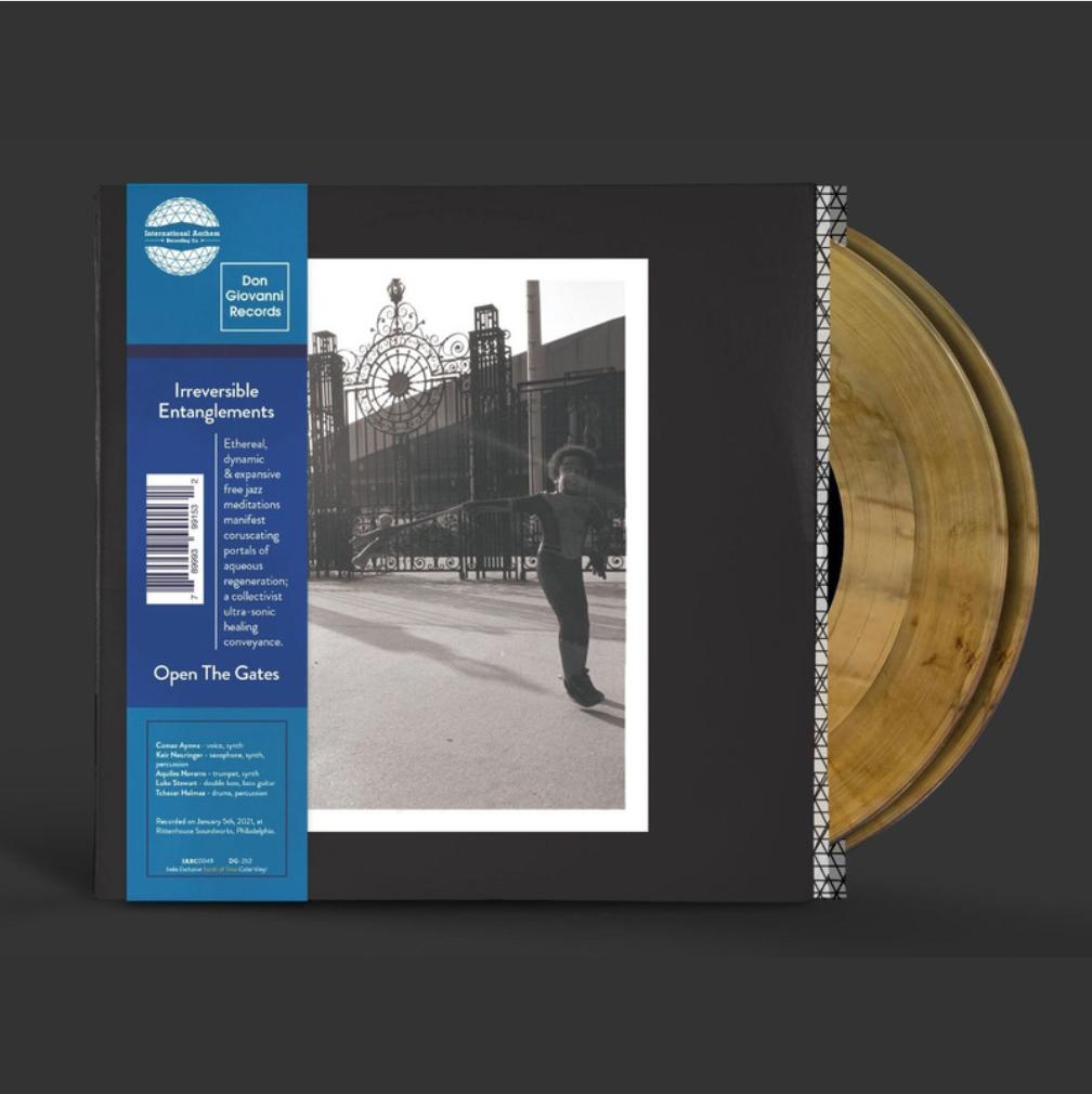 International Anthem Irreversible Entanglements - Open The Gates (Coloured Vinyl)