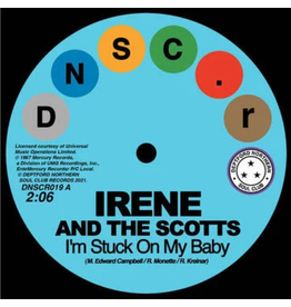 Deptford Northern Soul Club Records Irene and The Scotts & The Chantels - I'm Stuck On My Baby/Indian Giver
