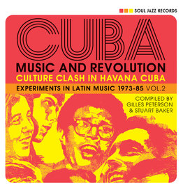 Soul Jazz Records Various - CUBA: Music and Revolution: Culture Clash in Havana: Experiments in Latin Music 1975-85 Vol. 2