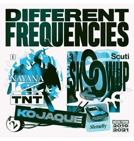 Different Recordings Various - Different Frequencies (Coloured Vinyl)