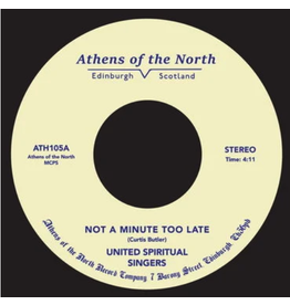 Athens Of The North United Spiritual Singers - Not A Minute Too Late