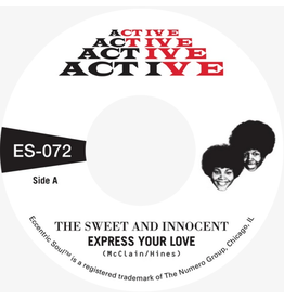 Numero Group The Sweet and Innocent - Cry Love b/w Express For Love