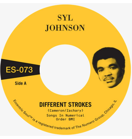 Numero Group Syl Johnson - Different Strokes b/w Is It Because I'm Black