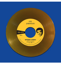 Numero Group Syl Johnson - Different Strokes b/w Is It Because I'm Black (Coloured Vinyl)