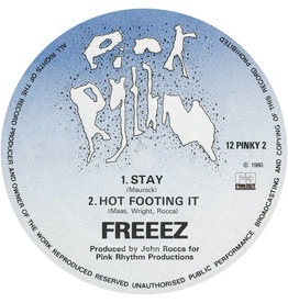 Far Out Recordings Freeez - Stay / Hot Footing It