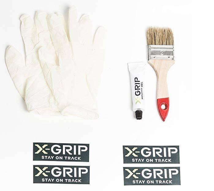 X-Grip Mousse EV-0 Noir Taille 21