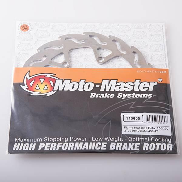 Moto Master Brake disc flame  rear BETA