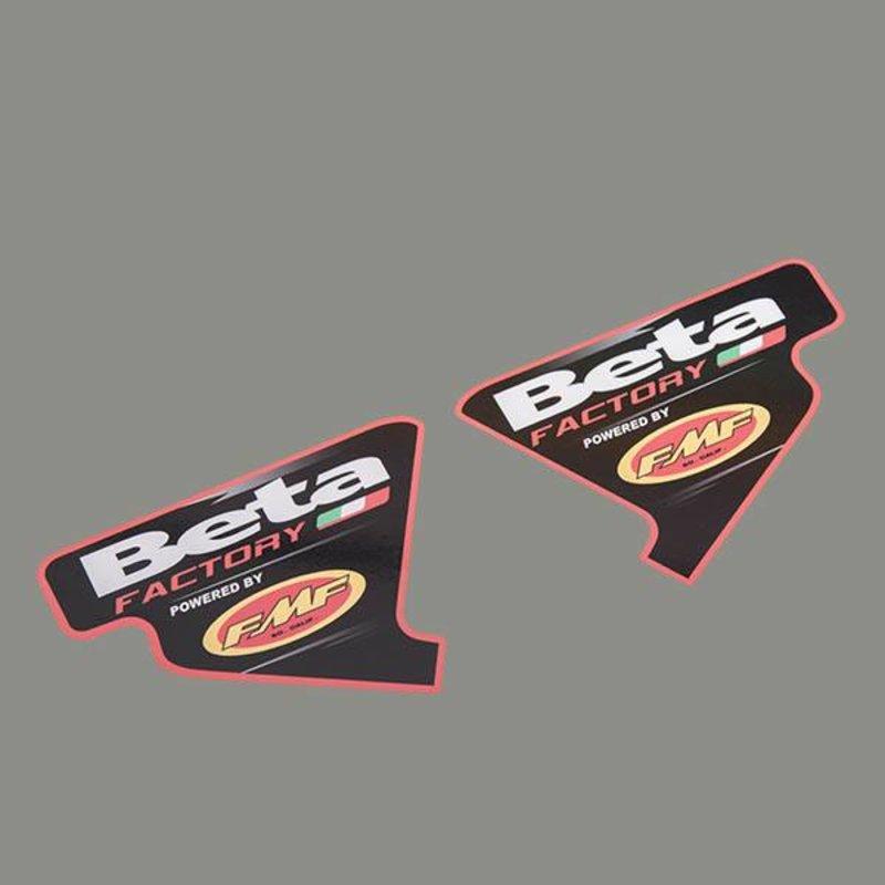Beta Exhaust Sticker
