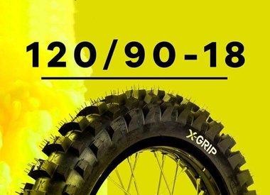 Rear Tyres  120/90-18