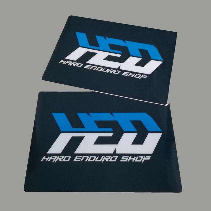 Hard Enduro Shop Fork Sticker