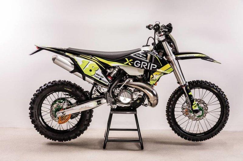 X-GRIP Graphic Kit KTM #18