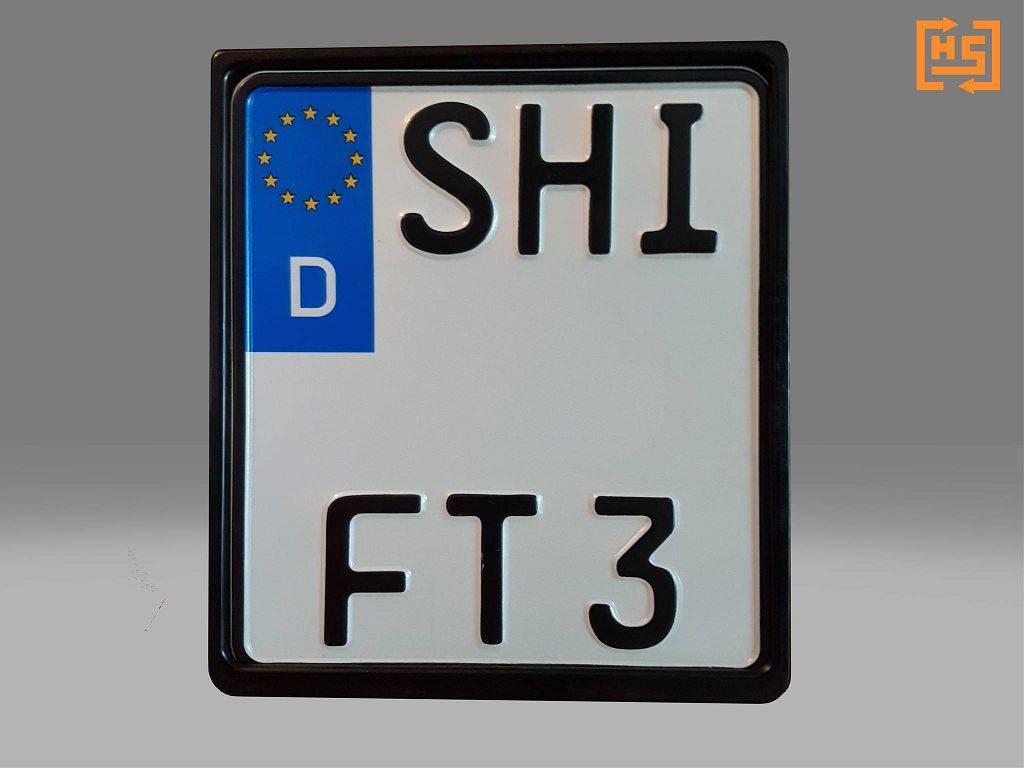 HotSwop Number Plate Holder Enduro Kit ALLOY-EDITION (for 1 bike)